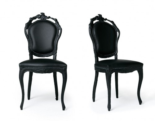 Smoke Dining Chair Designer Maarten Baas